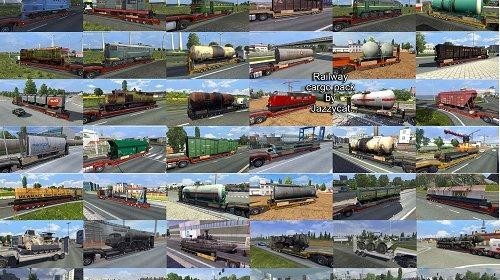 ETS2 Addons for the Trailers and Cargo Packs v3.8