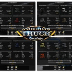 ATS ETS2 Trucks Pack v1