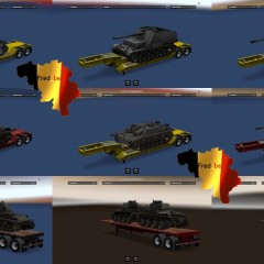 ATS World Of Tanks Trailers v1.1.x