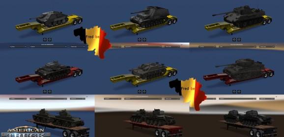 ATS World Of Tanks Trailers v1.1.x