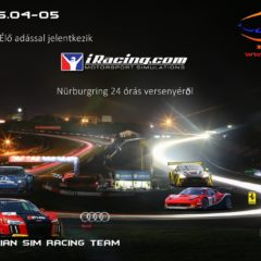 24 órás Nürburgring Nordschleife az NXTV-n!