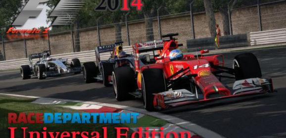 F1 2014 Universal Edition v1.2