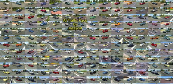 ETS2 AI Traffic Pack v3.8