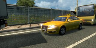 ETS2 Taxi Traffic Pack v0.9