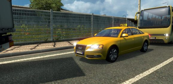 ETS2 Taxi Traffic Pack v0.9