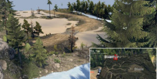 Spintires Flattop Track Map v2.0