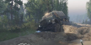 Spintires CCCP3 Map v1.0