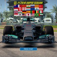 F1 2014 MOD 2016 Super Season v1.0