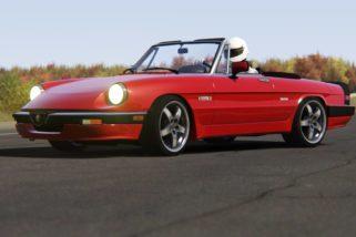 AC 86′ Alfa Romeo Spider Quadrifoglio+S1