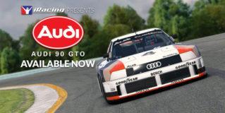 Megérkezett az Audi 90 GTO az iRacinghez!