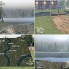 Spintires Reka Plitnaya Map v1.0