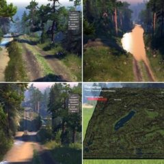 Spintires Missouri Map v1.0