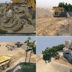 Spintires Peschanyy Karer Map v1.0