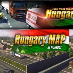 ETS2 Hungary Map v0.9.28