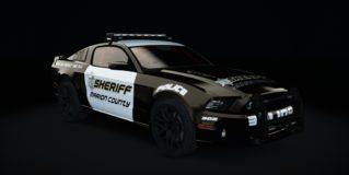 AC Ford Mustang Boss 302 Police v1.11