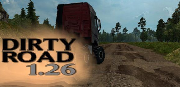 ETS2 Dirty Road Map v1.26