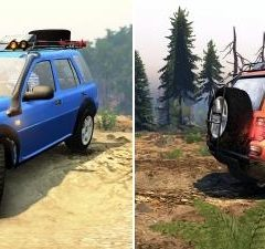 Spintires Land Rover Freelander V6