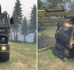 Spintires KamAZ 4310 Phantom v1.1