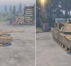 Spintires M1 Abrams