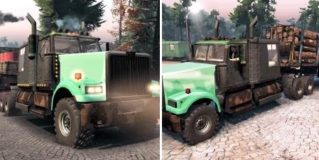 Spintires Western Star 4900