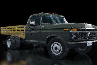 AC 1977 Ford F350 Stair Truck 3in1 v1.11