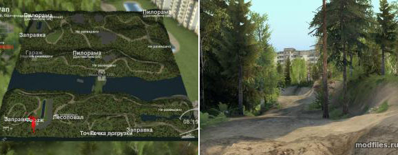 Spintires Ijevan Map v1.0