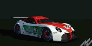 AC Alfa Romeo 8C GT3