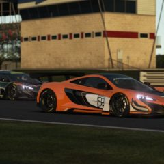 rF2 McLaren 650s GT3 screenshot
