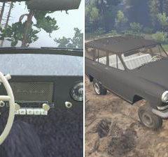 Spintires GAZ-22 Volga v1.0