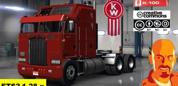 ETS2 Kenworth K100 v1.28.x