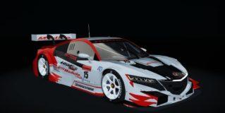 AC Honda NSX GT500 2014