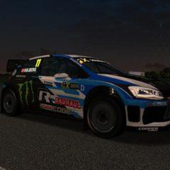 AMS VRX Rallycross Supercar POLO R WRX 2018