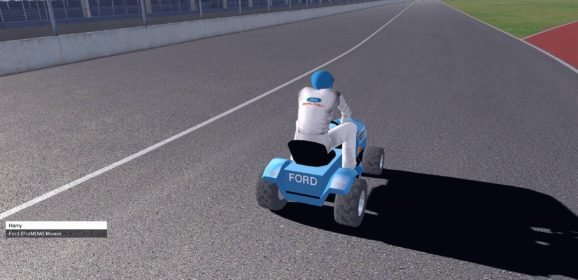 AMS Lawnmower Racing v1.0