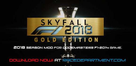 F1 2014 SKYFALL F1 2018 Season MOD v1.4