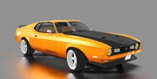 AC 1971 Ford Mustang Mach 1 429 CJ 3in1 v1.0