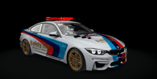 AC 2015 BMW M4 Coupe Safety Car v1.16