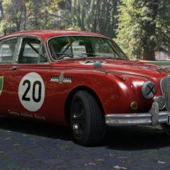 AC 1959 Jaguar MK II 3.8 Saloon Race v1.16