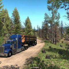 American Truck Simulator Oregon kiegészítés