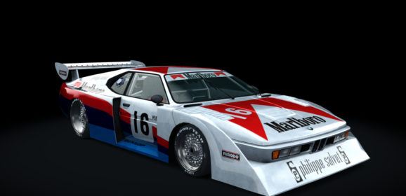 AC 1980 BMW-March M1 Group 5 v1.16