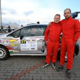 Tim Gábor új autóval dobogós a Mikulás Rallye-n