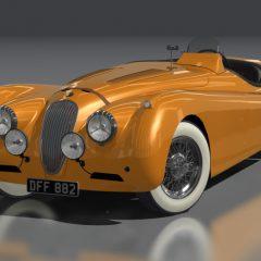 AC 1954 Jaguar XK120 Drophead v1.16