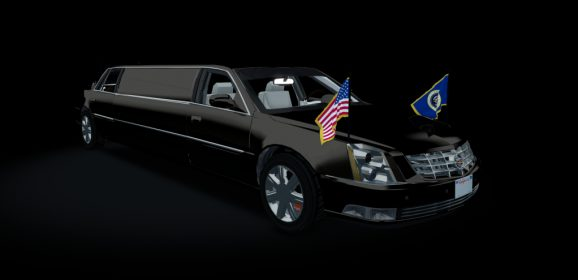 AC 2012 Cadillac DTS Presidential State Car v1.16