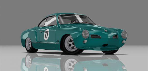 AC 1967 Volkswagen Karmann Ghia Race v1.16