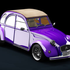 AC 1970 Citroen 2CV 3in1 v1.1