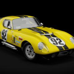 AC 1963 Shelby Cobra Daytona v1.16