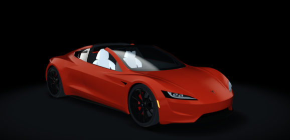 AC 2020 Tesla Roadster without Roof v1.16