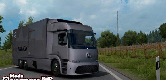 ETS2 Mercedes-Benz Urban E-Truck v1.0