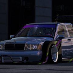 AC Mercedes-Benz 190E EVO II M9 Bosozoku v1.16