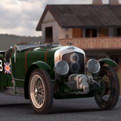AC 1931 Bentley 4½ Litre Blower v1.16